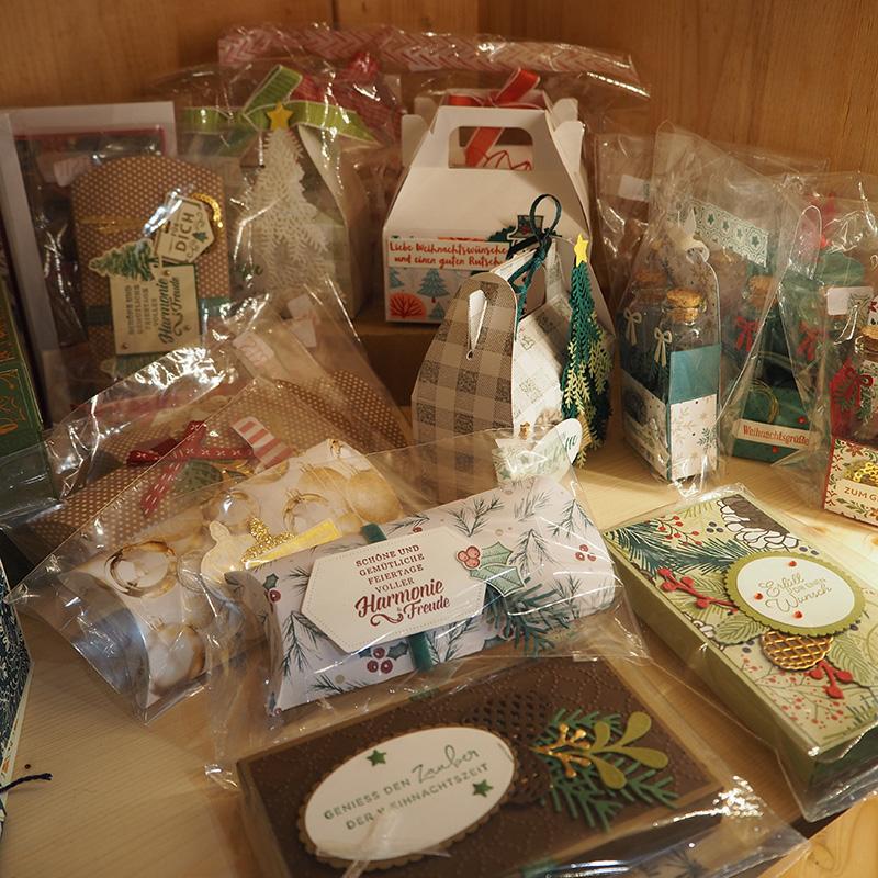 papierverpackungen für geschenke mit spruechen